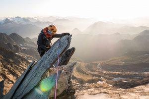 arête nord weissmies descente parapente alpinisme