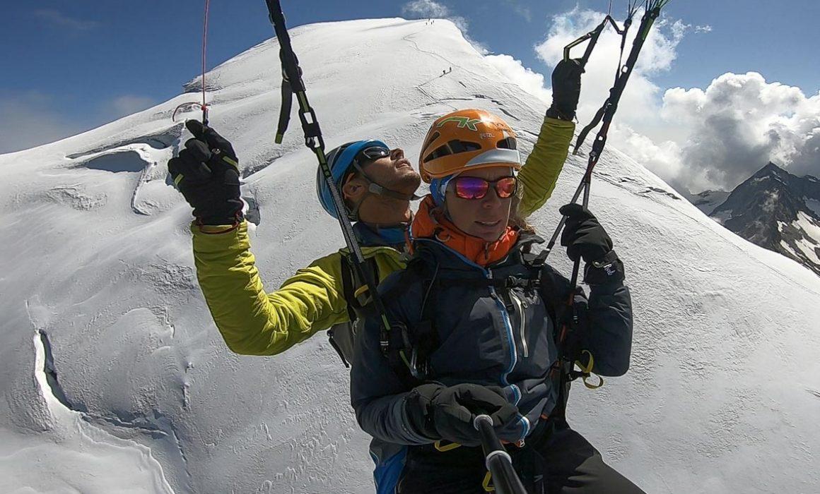 test biplace bi skin 2p de Niviuk. configuration parapente ligt vol rando alpinisme escalade montagne